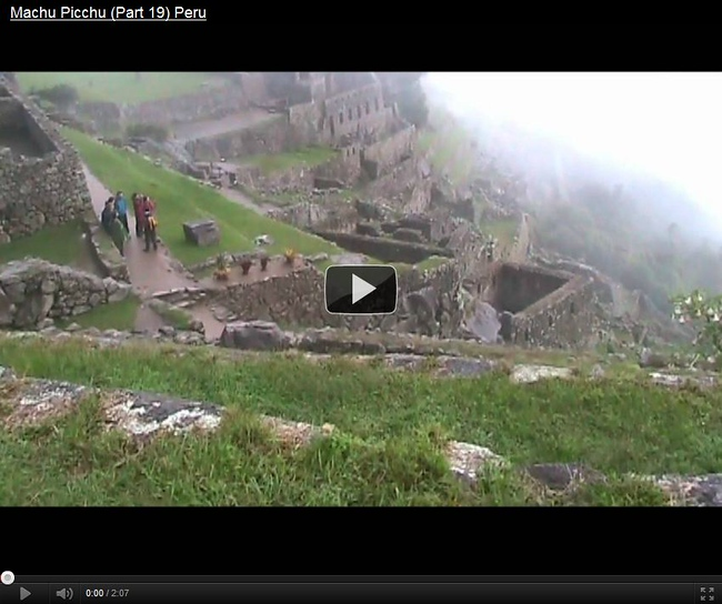 Machu Picchu, Peru is one of those