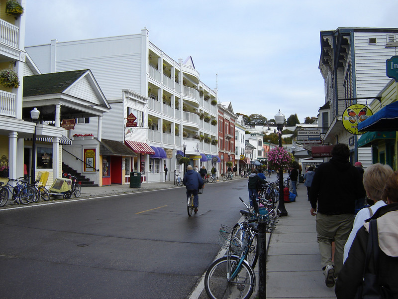 Downtown Mackinaw Island