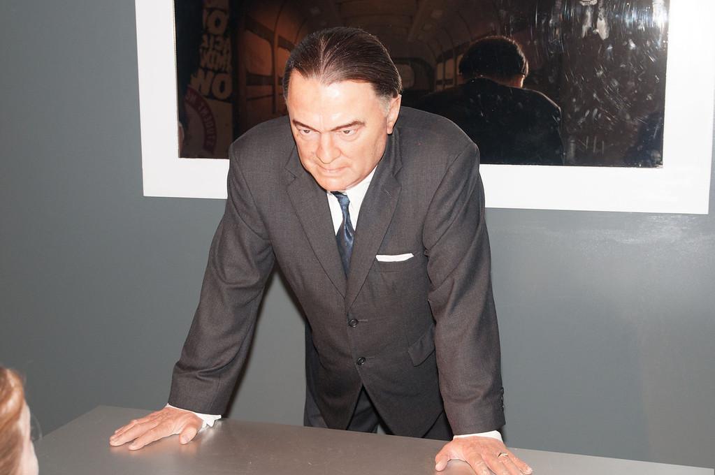 J. Edgar Hoover, head of the FBI