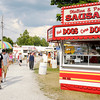 Food vendors populate the midway.