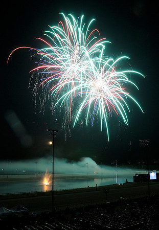 Fireworks and Symphony Orchestra at Hoosier Park.