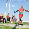Don Knight | The Herald Bulletin<br /> Anderson's Bryant White won the discus with a throw of 134 feet and 9 inches.