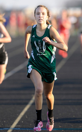 Don Knight | The Herald Bulletin<br /> Pendleton Heights' Emma Hall wins the 1600.