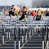 Don Knight | The Herald Bulletin<br /> Boys 110 meter hurdles.