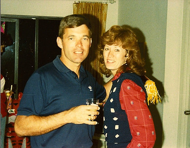 New Year's Eve in Cocoa Beach, FL.  1982