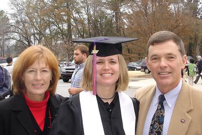 McKenna's graduation from Clemson University.  2007