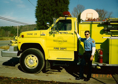 Firefighter/ EMT with fire department in Knox County, TN.  1995
