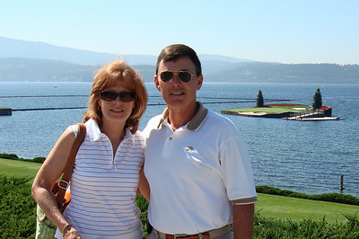 Coeur d'Alene, ID Golf Resort with Class of '70 Golf Tour.  2009