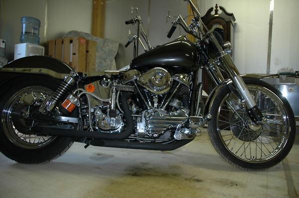 Maggie 1960 Harley FLH