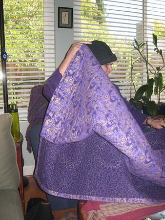 Maggie's Quilt, August 2010