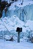 Frozen Waterfall, Richland County, Wisconsin