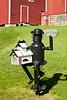"""""""Tin Man"""" Mailbox Sculpture, Sauk County, Wisconsin"""