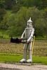 """The Tin Man"" Mailbox Post, Dane County, Wisconsin"