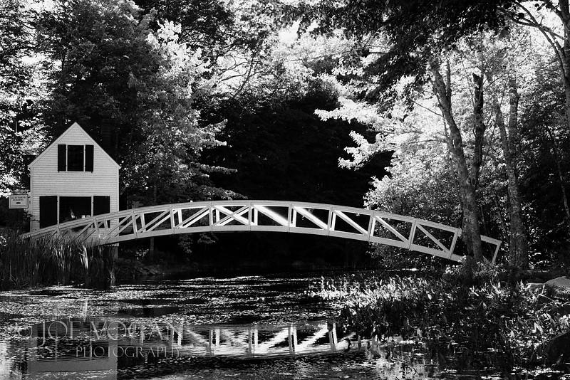 Somesville Footbridge, Somesville, Mount Desert Island, Maine