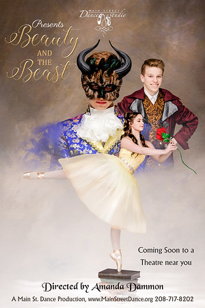 Beauty and the beast poster working