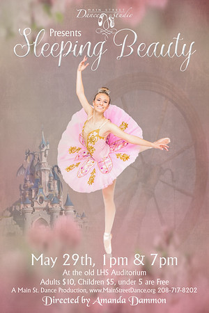Sleeping Beauty Poster Spindle