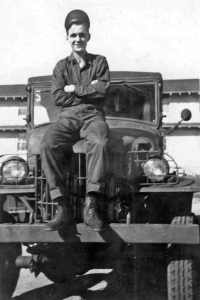 Markell Main, Fort Ord, California, January 1945.