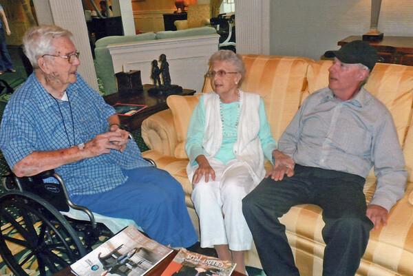 Mark & Helene visiting  Brandywine on June 8, 2015