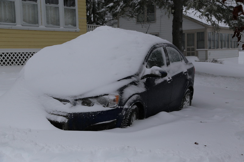 Billy's parking job.