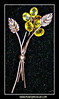 "#89-J13f920913i - This is a beautiful vintage Coro sterling silver (gold plated) brooch or pin. This pin has citrine colored stones that are open back so they shine very nicely. Pin is sterling silver with rose gold vermiel and clearly marked ""Sterling by Coro"" on a cartouche on the back. This vintage beauty measures approximately 2.5"" tall x 1"" wide at the widest point."