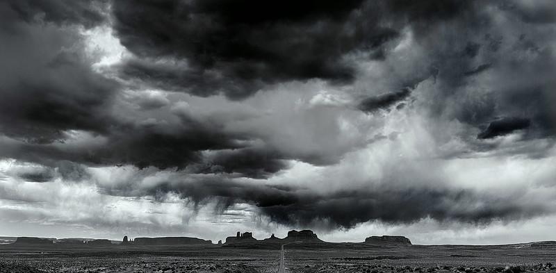 Bad sky over gump hill