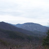 Linville Gorge, NC, entering it via a gravel road