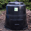 Place compost bin in shade or sun. Keep area around the bin clear.