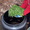 Add some grass. Leave most of your clippings on the lawn to decompose.