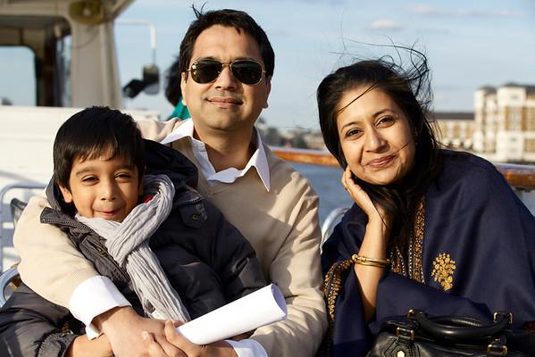 malavika family