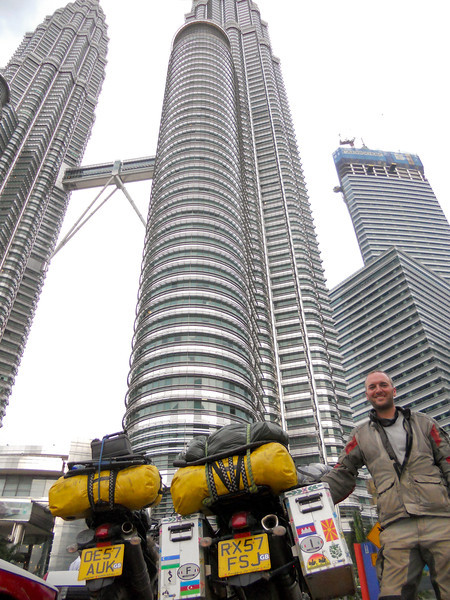 Kuala Lumpur! We do the best we can with no wide-angle lens (not that James ever goes on about it....)