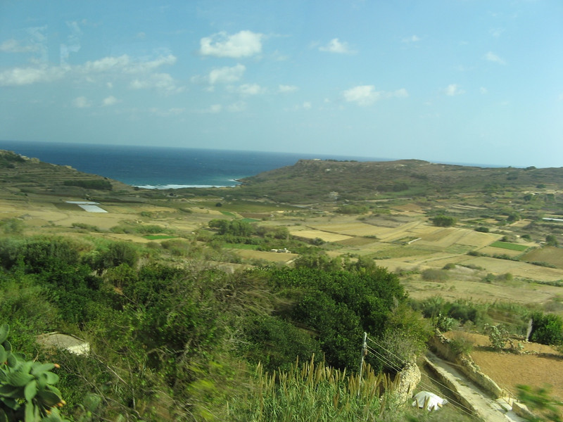 Bus trip from Marsalforn back to Mgarr Harbour