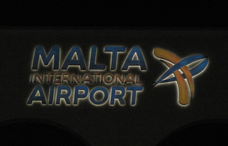 Arrival in Malta from Zuerich on Oct 14, 2011