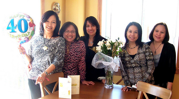 Malu's 40th Birthday (belated celebration on 12 Dec 2009)
