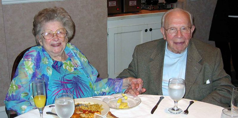 Lunch today, Fathers Day 2004.  Mama and Isasc