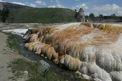 Mammoth Hot Springs-2005