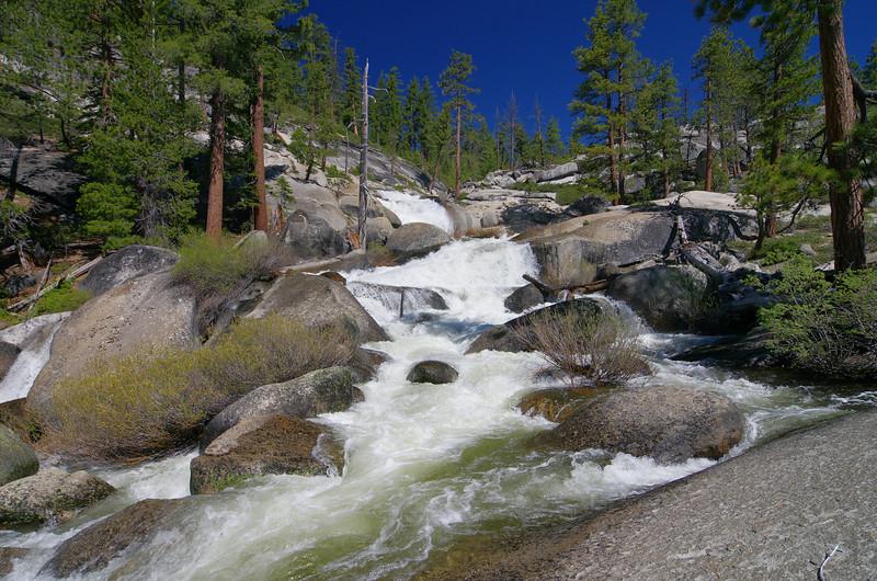 Jackass Creek from near the Minarets Road.