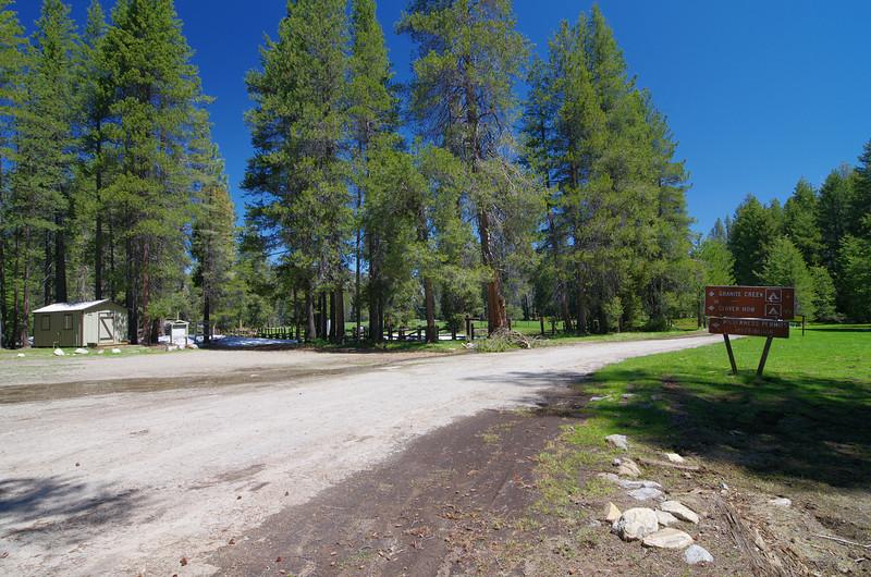 Clover Meadow Ranger Station.