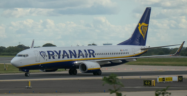 Boeing 737-8AS, Chania to Manchester -, EI-FOT, FR1255, Manchester Airport, Ryanair - 16/08/2018:17:11