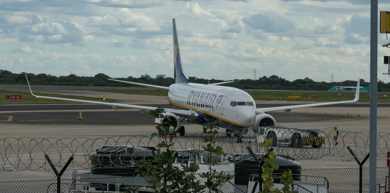 Boeing 737-8AS, Chania to Manchester -, EI-FOT, FR1255, Manchester Airport, Ryanair - 16/08/2018:17:15