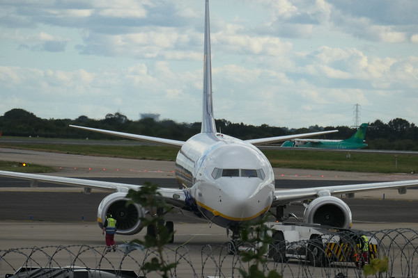 Boeing 737-8AS, Chania to Manchester -, EI-FOT, FR1255, Manchester Airport, Ryanair - 16/08/2018:17:16