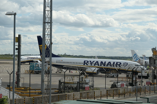 Boeing 737-8AS, EI-GJA, Manchester Airport, Ryanair - 16/08/2018:16:53