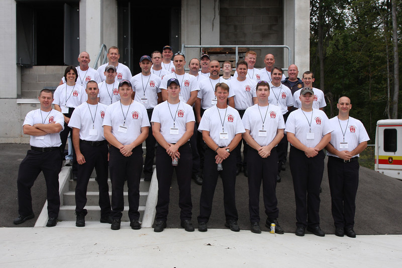 Manchester IAFF Local 1579 members