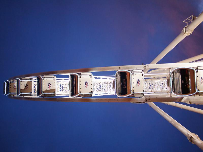 Observation wheel perspective.