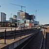 Media City, ever under construction.