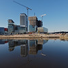 Media City reflected