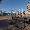 and is also home to my favourite urban bench, which I've photographed on many occasions.