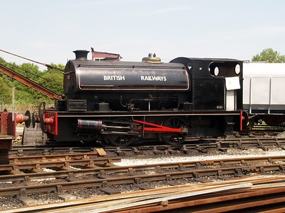 0-4-0ST 2087 seen at Bucks Railway Centre    29/06/09