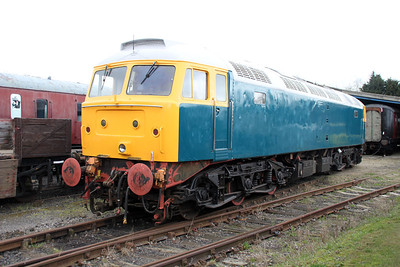 Class 47_47579/47773 Unnumbered after repaint   31/03/12