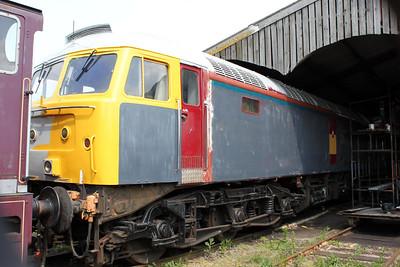 47793 being repainted at Mangapps Farm Railway.