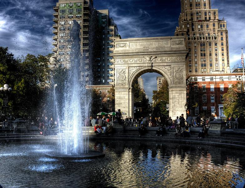 Washington Square Park   -- click image for larger view